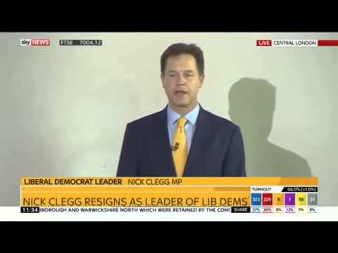 Nick Clegg and his Double Dutch