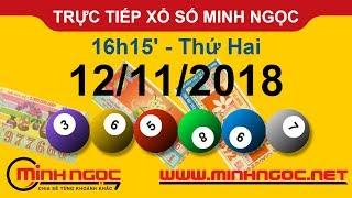 Xổ số Minh Ngọc™ Thứ Hai 12/11/2018 - Kênh chính thức từ Minhngoc.net.vn