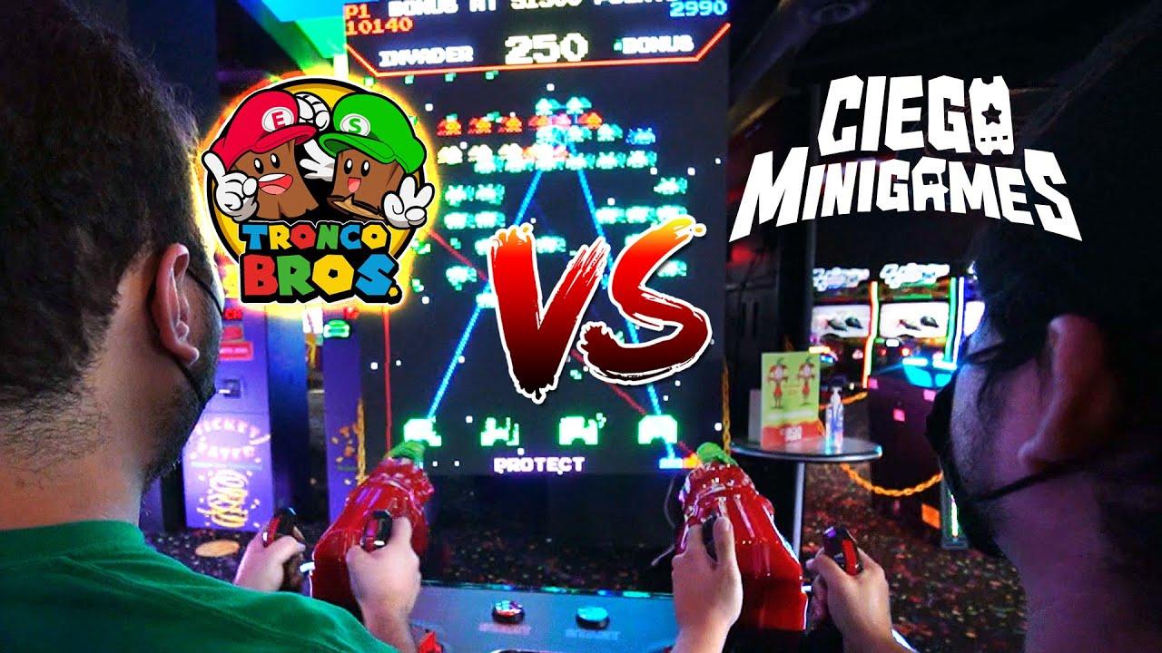 TroncoBROS. VS CiegoMiniGames Team - Versus