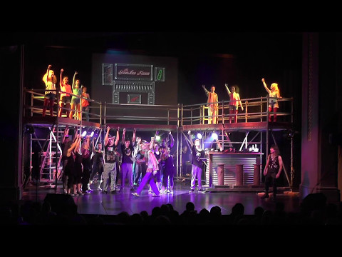 Rock of Ages 2017 Just Like Paradise/Nothin' But a Good Time Whanganui High School