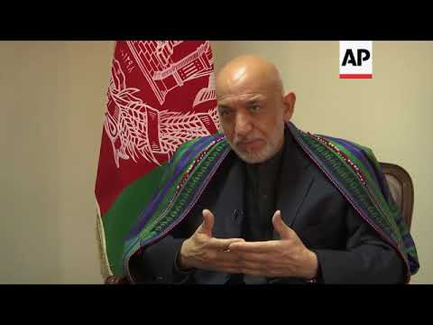 AP Interview: Afghan ex-president sees Taliban role in peace