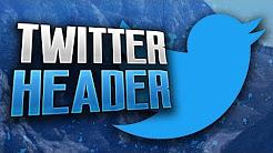 How To Make A Sleek Gaming Twitter Header!