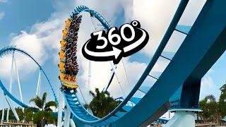 VR 360 Roller Coaster Ride 4K