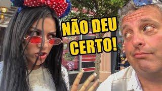 VIREI GRINGA NA DISNEY E DEU NISSO!  ft. VALENTINA SOBRINHO