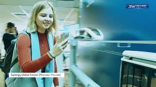 Смотреть видео Репортаж Максима Выдро о SKY WAY CAPITAL на бизнес форуме Synergy Global Forum 2018 Россия, Москва онлайн