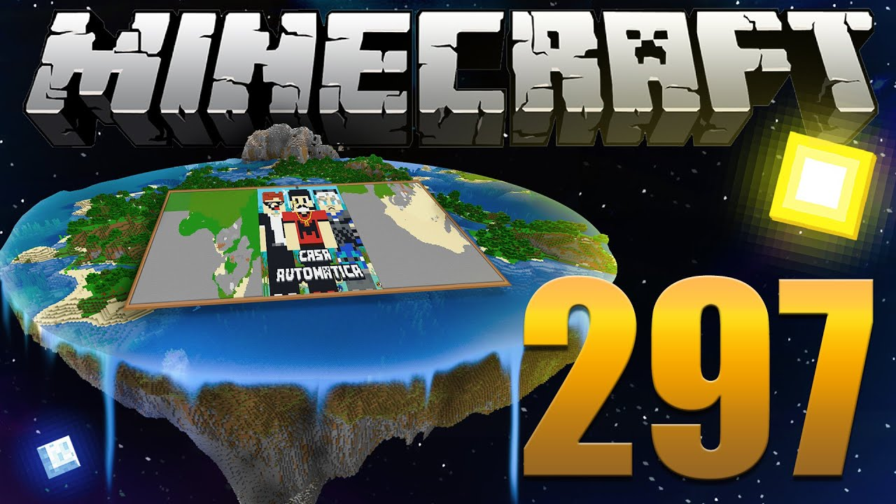 Projeto Mega Pixel Art - Minecraft Em busca da casa automática #297