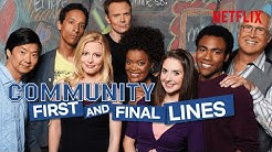 Every First and Last Line in Community | Netflix