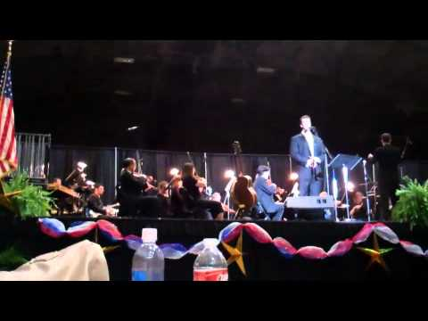 Benjamin Utecht with the Monroe Symphony Orchestra