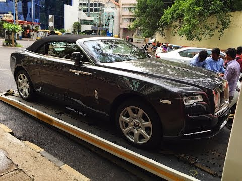 First Rolls Royce Dawn In Bangalore | A Convertible Rolls Royce !!