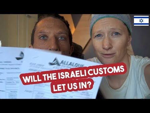 Dealing With Customs In Israel /// VStrom Adventures #049