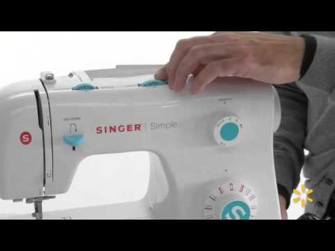 Singer Simple 40 Stitch Sewing Machine 40 YouTube Adorable Singer Sewing Machine 2263