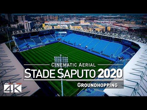 【4K】Drone Footage | SAPUTO STADIUM Montreal Impact ..:: Spectacular Arenas 2019