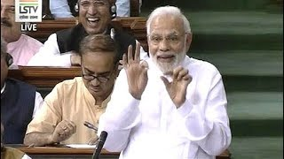 """""""How Can I Look You In The Eye?"""" PM's Comeback After Rahul Gandhi Attack"""