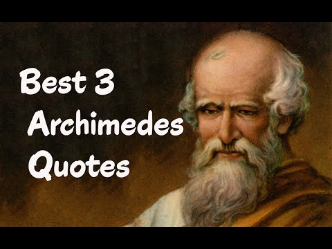 Best 3 Archimedes Quotes (Author of The Works of Archimedes)