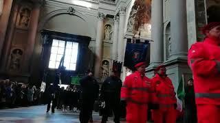 Novara, patronale San Gaudenzio: ingresso in Basilica del corteo civico