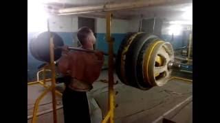 Ходьба со штангой 235kg | 80kg