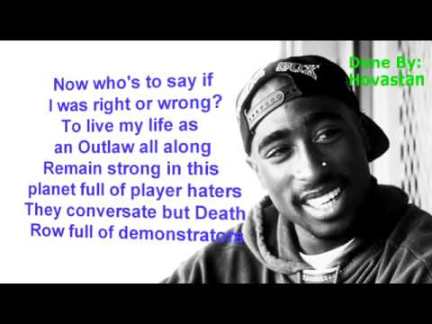 2Pac Until the end of time lyrics OG
