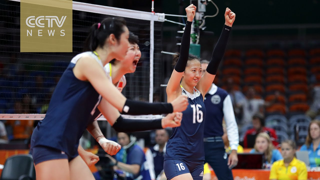 Chinese women's volleyball team beats Netherlands to reach ...