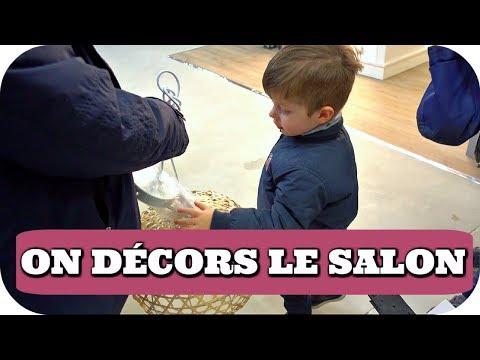ON REFAIT LE SALON ! - VLOG FAMILLE ALLO MAMAN