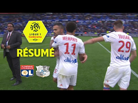 Olympique lyonnais - amiens sc ( 3-0 ) - résumé - (ol - asc) / 2017-18