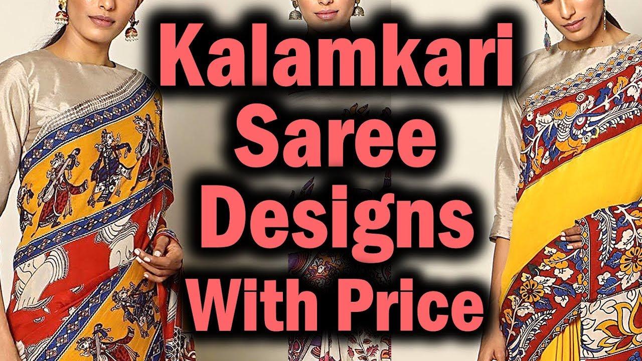 7cc952a65368 Kalamkari Sarees with Price