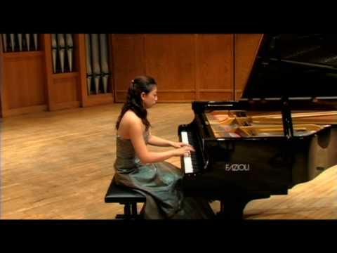 Ravel Gaspard de la nuit--Ondine played by Xu Hui