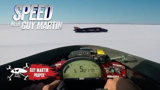 Guy breaks his personal 217mph land speed record on Bonneville Salt Flats | Guy Martin Proper