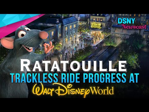 RATATOUILLE Trackless Ride Progress at Walt Disney World - Disney News - 3/12/19