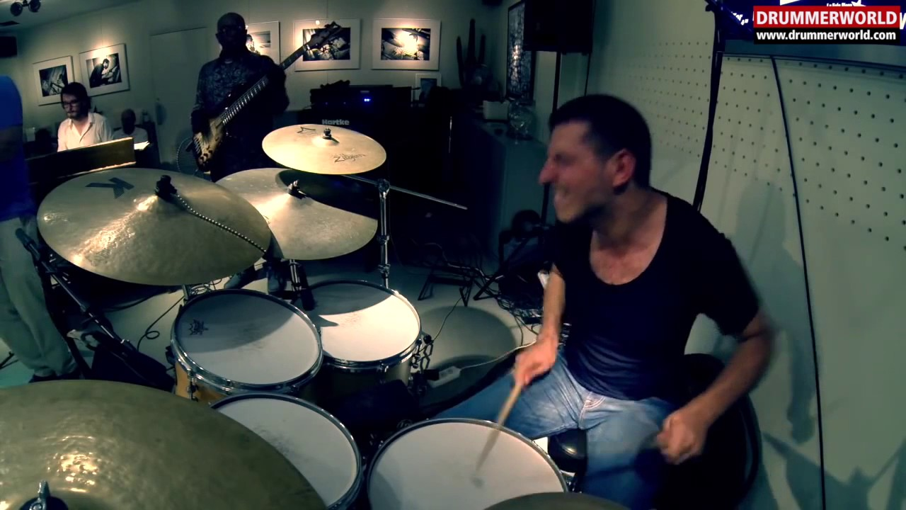 Nicolas Viccaro | Drum Solo with Bill Evans | Etienne Mbappe | Fred Dupont