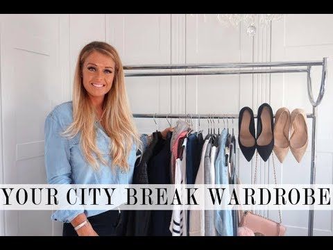 Capsule Holiday Wardrobe  - City Break