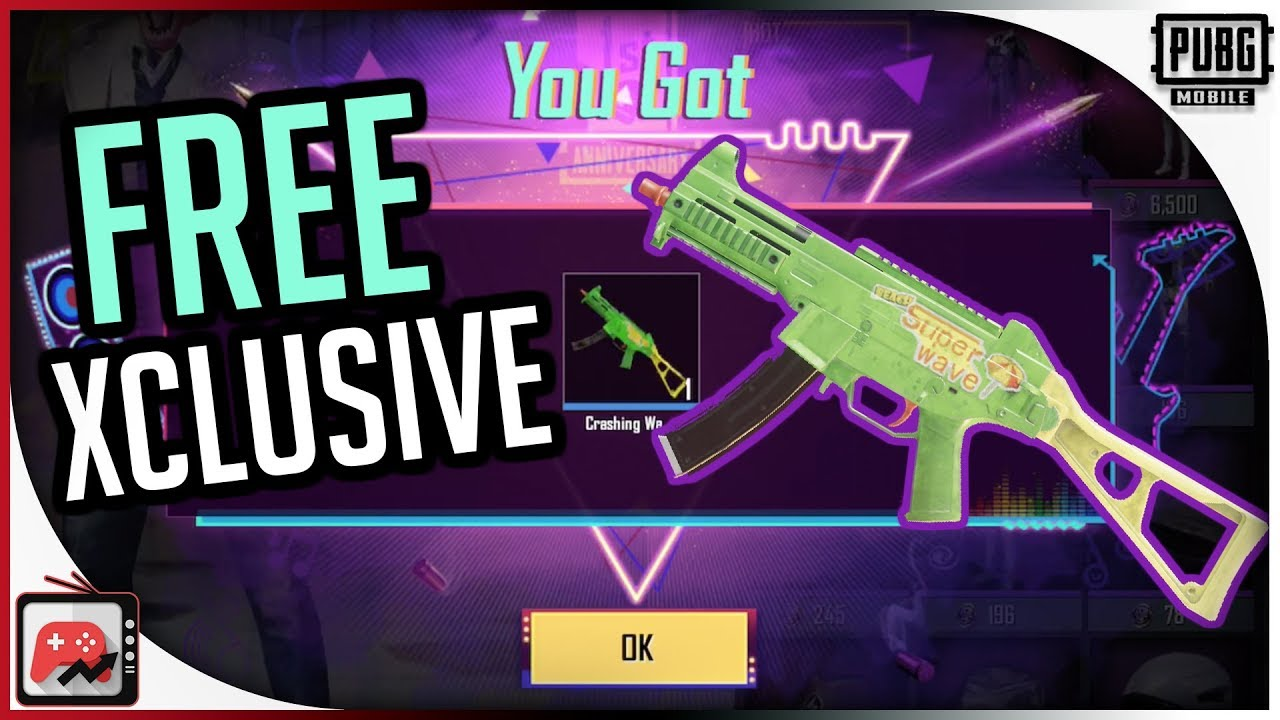 How to Get the Exclusive UMP Weapon Skin Crashing Waves PUBG Mobile