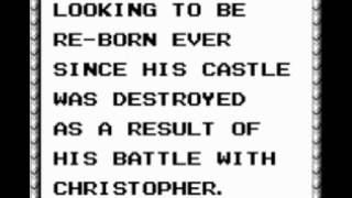 The best 8-bit music top 100; #10: Castlevania II: Belmont's Revenge / GB -- Opening 2
