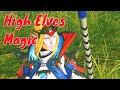 High Elves attacking spells. Total War Warhammer 2 cinematic magic.
