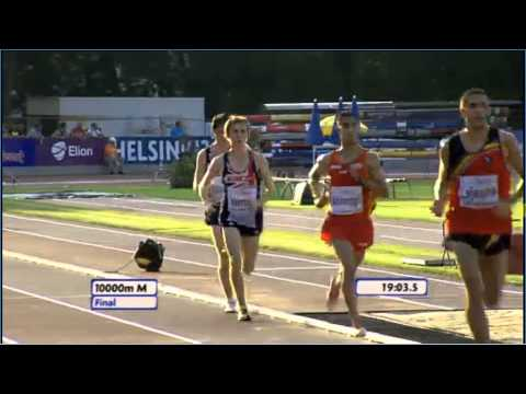 2011, Liam Brady, 10000m Final, European Junior Championships, Tallinn, Estonia