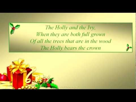 THE HOLLY AND THE IVY Lyrics