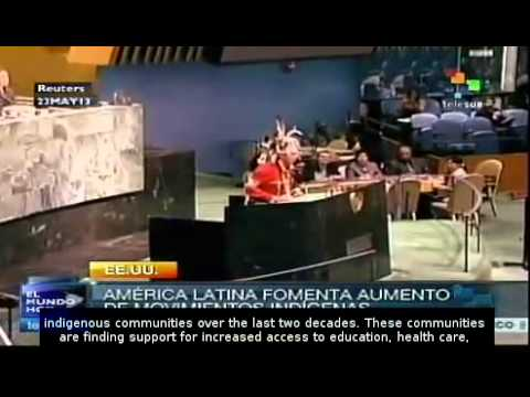 Latin America encourages growth of indigenous movements