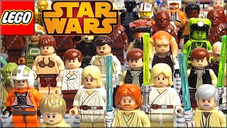 Минифигурки Lego Star Wars Часть 1. Обзор Лего Звёздные войны Светлая сторона