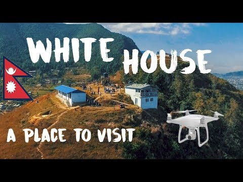 WHITE HOUSE & Bike Over Heat | Drone Shoot | Ride Nepal