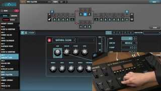 BOSS GT-100 Version 2 Software Update Demo - Sweetwater