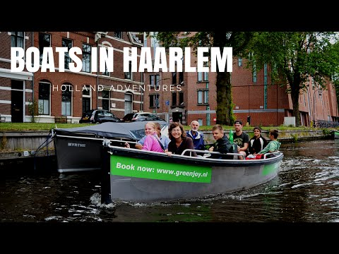 HOLLAND: Haarlem from the boat