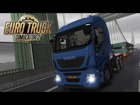 Euro Truck Simulator 2 #3 - PARKING HEADACHE: Luxembourg to Dusseldorf