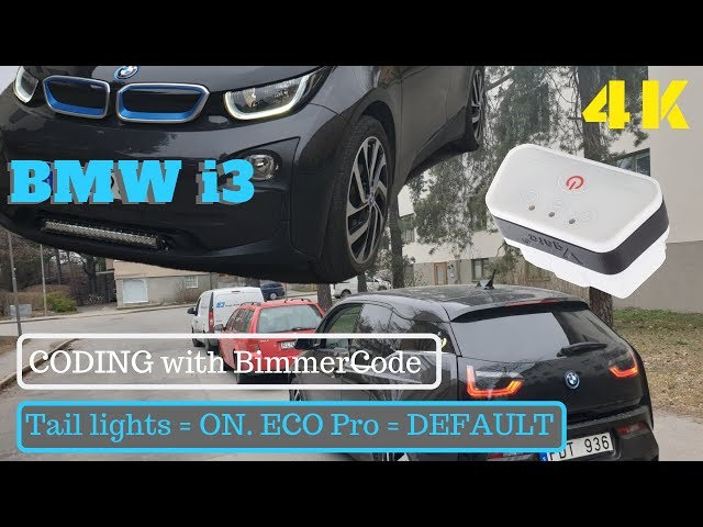 BMW i3 Coding with Bimmercode