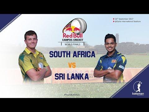 Red Bull Campus Cricket World Finals 2017 - Finals (SL vs SA)