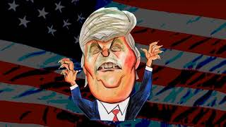 Donald Trump - Caricatura animada