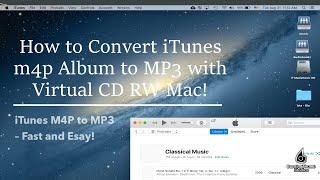 virtual cd rw how to convert itunes m4p album to mp3 using virtual cd