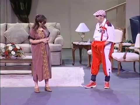 very special visit play clip اشرف بسطا وفاتن غالى فىمسرحية زيارة خاصة جدا - اخراج د. البير موسى