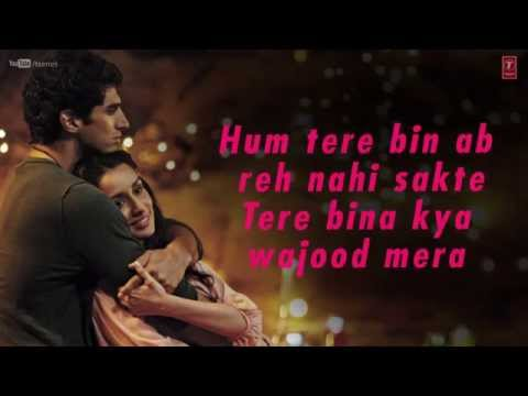 Aashiqui 2 All Song Lyrics - Sing with Songs - Filmy Keeday