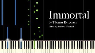 Immortal by Thomas Bergersen (Piano Tutorial)