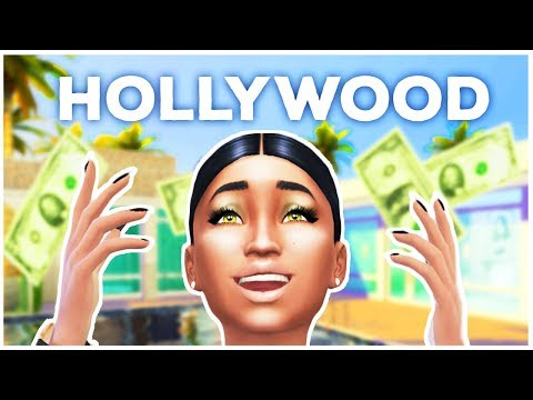 BUILDING MY SIM A HOLLYWOOD DREAM HOME! [ With my sister ]