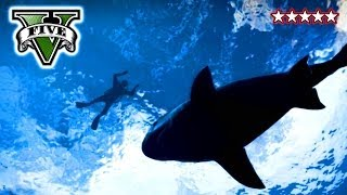 Repeat youtube video GTA 5 SHARK ATTACK - Hunting Sharks on GTA V - Funny Crew Moments Grand Theft Auto 5